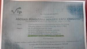 Sertifikat Legalitas Kayu yang di palsukan
