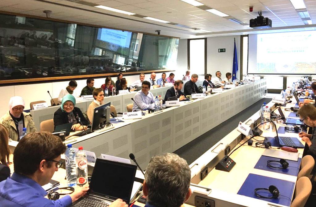 Rapat Koordinasi LIU (Indonesia) dengan 28 Competent Authority Uni Eropa, 30 September 2016