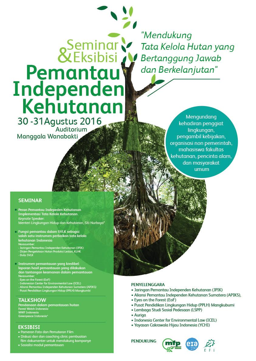 Seminar and Exhibition of Independent Forestry Monitors Supporting Responsible and Sustainable
