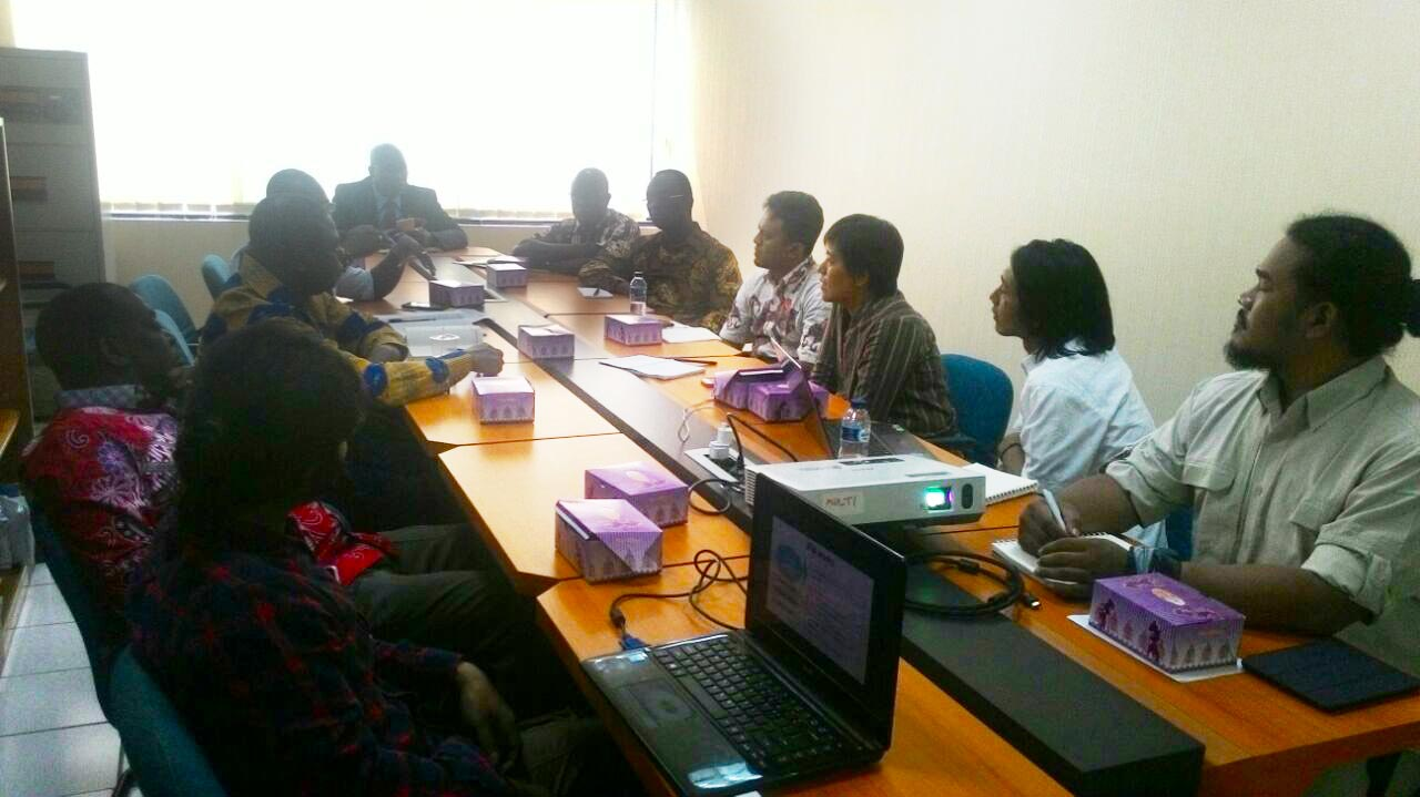 Sharing Experience with Ghana Delegates