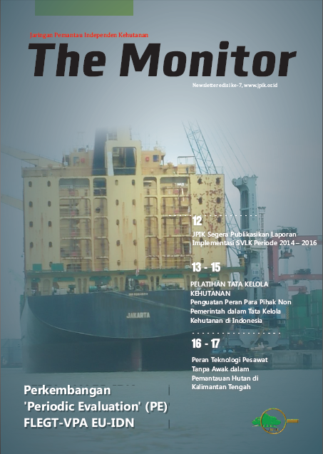"JPIK Newsletter 7th Edition ""The Monitor"""