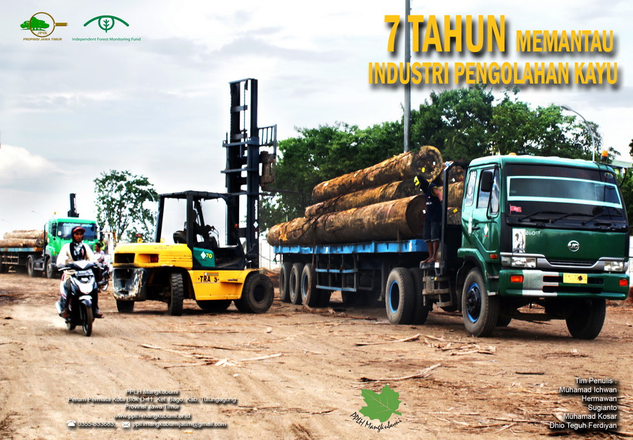 PPLH Mangkubumi-JPIK East Java Launched a 7-Year Report to Monitor the Log Processing Industry