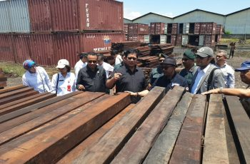 House of Representatives Commission IV Visits Surabaya to Review Illegal Logging Results
