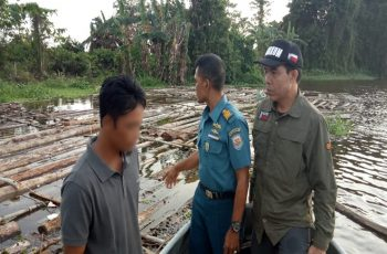 KLHK Sets Suspects and Seizes Hundreds of Illegal Processed Logs in Ketapang Regency, West