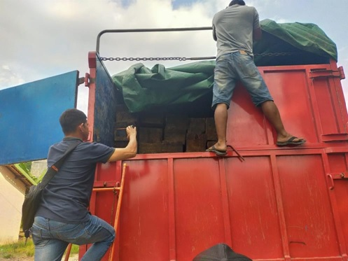 KLHK Arrests Illegal Timber Distribution Network in South Sumatra and Jambi