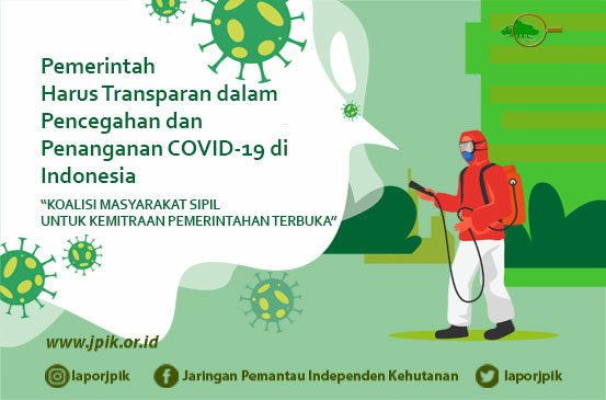 The Government Must Be Transparent in the Prevention and Management of COVID-19 in Indonesia
